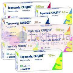 ТОРАСЕМИД САНДОЗ / TORASEMID SANDOZ