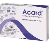 Acard таблетки инструкция